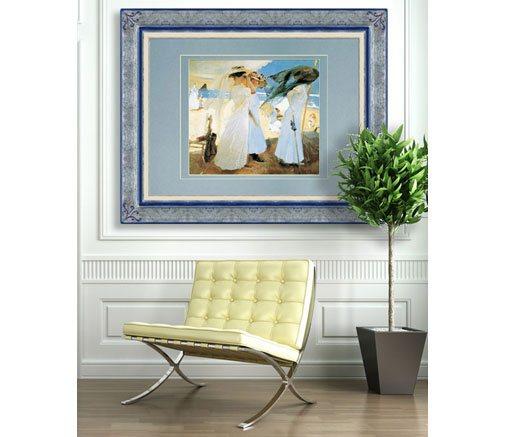 Enmarcar cuadros sin marco affordable len imagen for Cuadro cristal sin marco