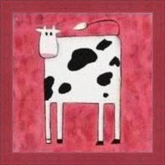 Cuadro cuadro vaca cu0010151 enmar k2 - Cuadros de vacas ...