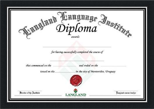 Marco Para Diploma Din A4 Negro Cu0010971 Enmar K2