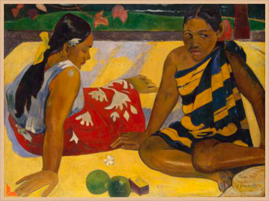 Canvas Femmes de Tahiti - Gaugin
