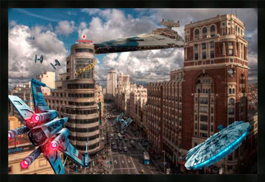 Gran Via Star Wars XL