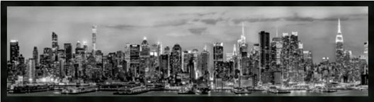 New York at Night Panoramic M
