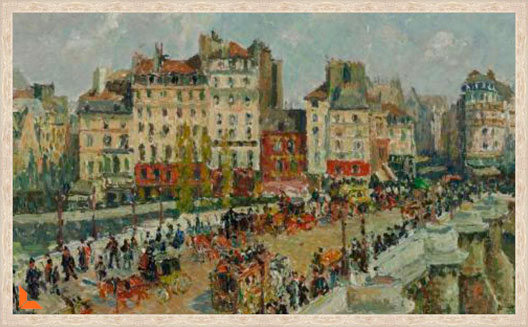 The Pont Neuf - Camille Pissarro