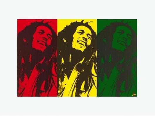 Bob Marley Pop Art M