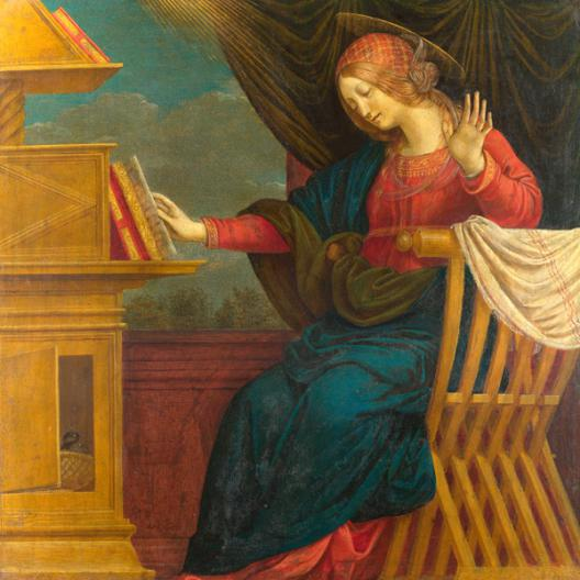 The Annunciation, The Virgin Mary