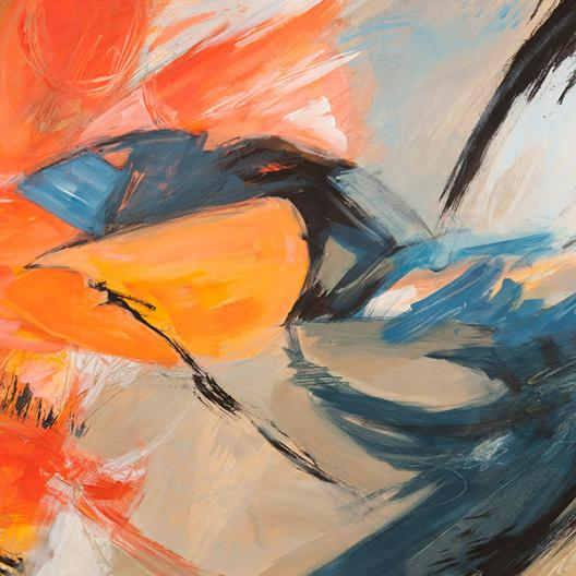 Oranges   Blues (detail)