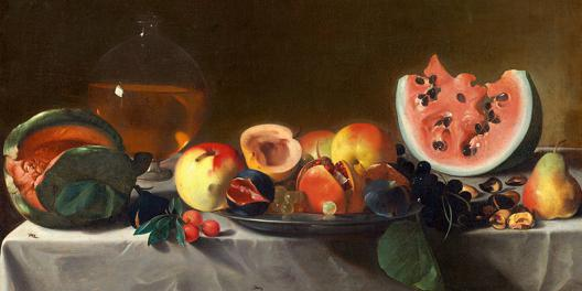 Still Life with Fruit and Carafe