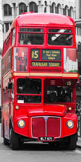 Double-Decker bus, London