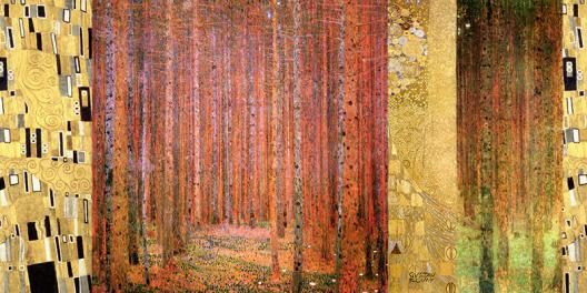 Klimt Patterns – Forest II