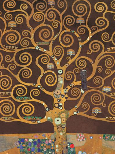 Tree of Life (Brown Variation) (detail)