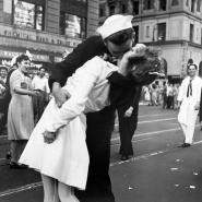 Kissing the War Goodbye in Times Square, 1945