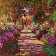 Path in Monet´s Garden, Giverny