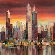 Sera su New York (detail)