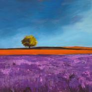 Field of Lavender (detail)