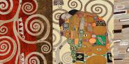 Klimt Patterns – The Embrace (Pewter)