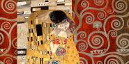 Klimt Patterns – The Kiss (Pewter)