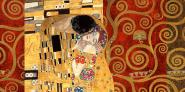 Klimt Patterns – The Kiss (Gold)