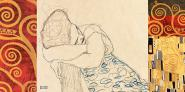 Klimt Patterns – Woman Resting