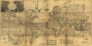 A New & Correct Map of the Whole World, 1719