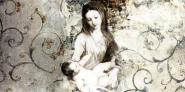Madonna and Child (after Van Dyck)