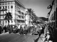 Depart du Grand Prix automobile de Nice 1934