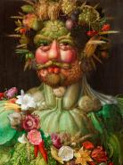 Rudolf II of Habsburg as Vertumnus