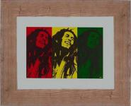 Lit. Bob Marley Pop Art M