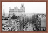 Madrid - Gran Via B/W