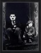 Chaplin - The Kid XL B/W