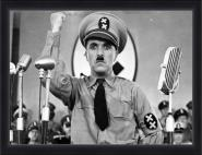 Chaplin - The Great Dictator B/W