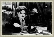 Chaplin - The Gold Rush Gris B/W