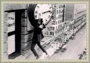 Harold Lloyd - Safety Last Gris B/W