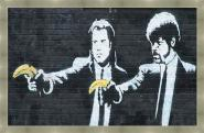 Pulp Fiction by Banksy Gris