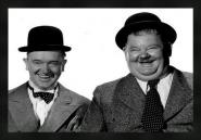 Laurel & Hardy B/W