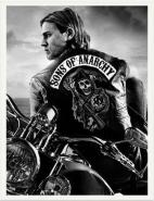 Sons of Anarchy, B/W Poster I - L