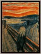 Canvas El Grito, Edvard Munch, 1893