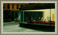 Canvas Nighthawks, Edward Hopper, 1942