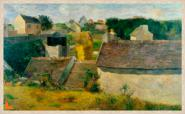 Canvas Houses at Vaugirard - Gaugin