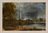 Study for Salisbury Cathedral from the Meadows M