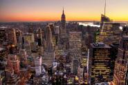 New York Atardecer