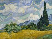 Wheatfield with Cypresses, 1889 L