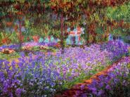 The Artist´s Garden at Giverny M