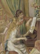 Young Girls at the Piano XL