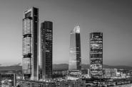 Torres Castellana B/N - Madrid XL