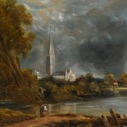 Study for Salisbury Cathedral from the Meadows S